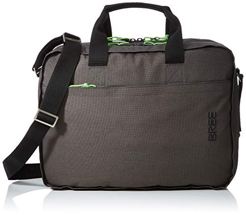 BREE Unisex-Erwachsene PNCH Style 67 briefcase Laptop Tasche, Grün (Climbing Ivy), 27x8x38 cm