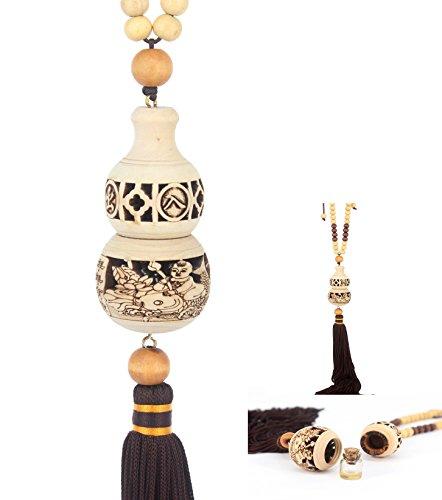Ponerine Borla Chino Lucky Nudo Colgante decoración para Regalos con Mala, Coche Colgar Perfume Colgante Craved
