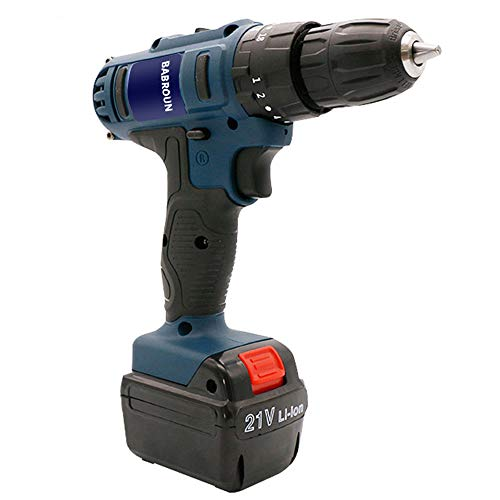 Babroun Lon Industry Hammer Electric Cordless Rechargeable Drill