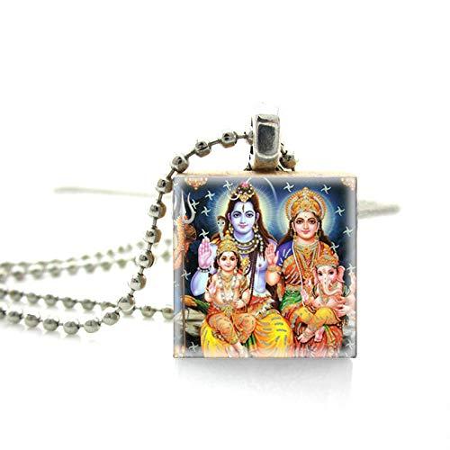 SWAOOS Vintage Ganesha Dieux Hindous Déesses Scrabble Jeu...