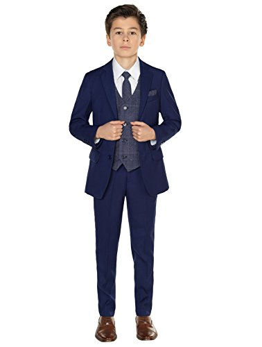 Paisley of London Jungen Anzug Blau blau Gr. 5 Jahre, blau