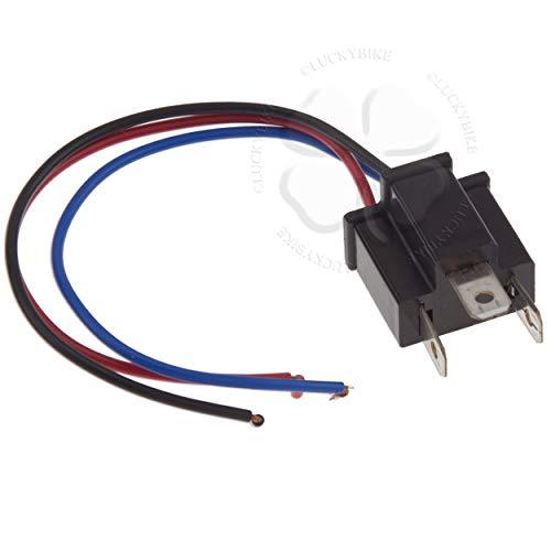 1x Male Headlight Adapter Plug H4 HB2 9003Pin Light Connector Harness Socket