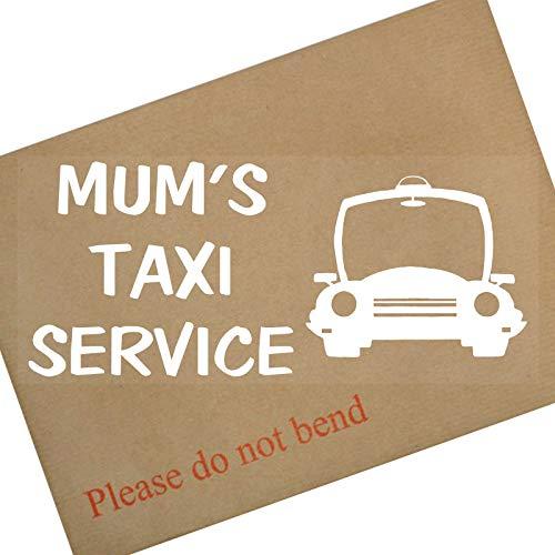 Mamans Taxi service-car fenêtre sticker-fun, panneau autocollant en vinyle pour camion, van, véhicule