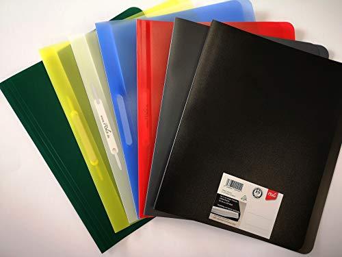 FLVG 7 A4 Schnellhefter,in verschiedenen Farben von Onkel Schwerdt,von hinten abheftbar