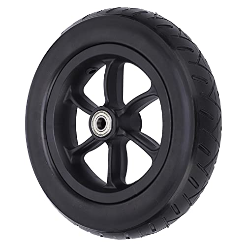 Rueda de poliuretano, neumático delantero para silla de ruedas eléctrica, neumático antideslizante para silla de ruedas, para silla de ruedas, para ruedas de repuesto