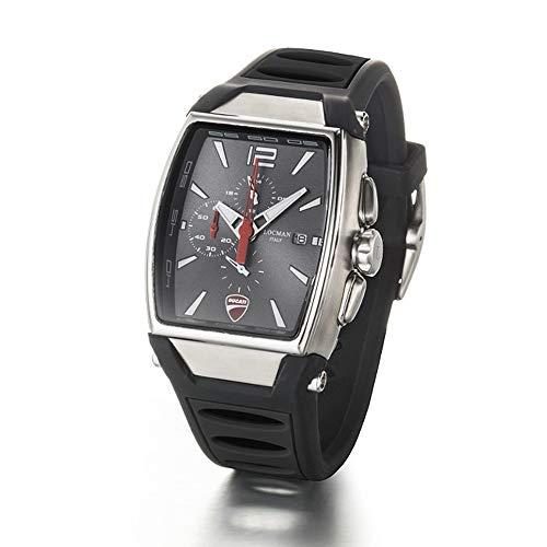 Orologio Locman DUCATI d550a07s-00gywhsk Al quarzo (batteria) Acciaio...