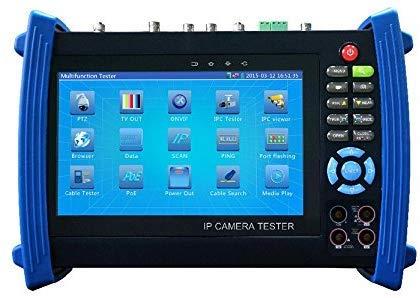TDR IPC8600MOVT lsmaa, touchscreen, 1080P, HDMI, IP-CCTV-tester en POE-test/WIFI digitale multi-meter, optische powermeter, visuele foutendetectie, TDR IPC8600MOVT lsmaa