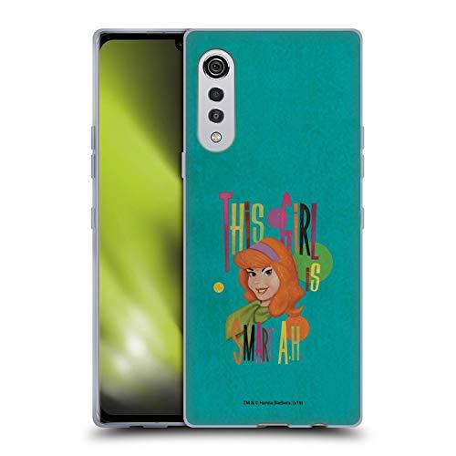 Head Case Designs Licenciado Oficialmente Scooby-Doo Daphne Vintage Carcasa de Gel de Silicona Compatible con LG Velvet / 5G