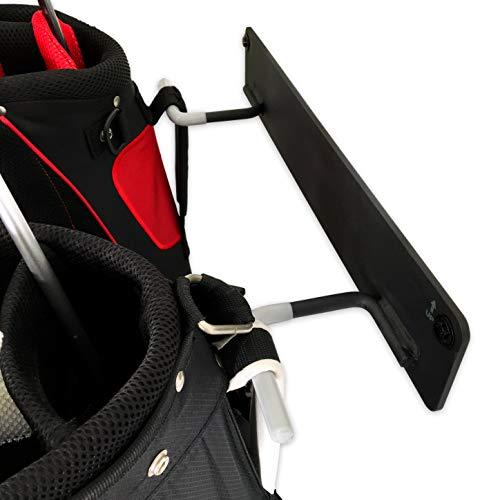 StoreYourBoard BLAT 2 Bag Golf Rack, Garage & Home Storage Hooks, Mounted Hanging Organizer, Golf Bags & Accessories