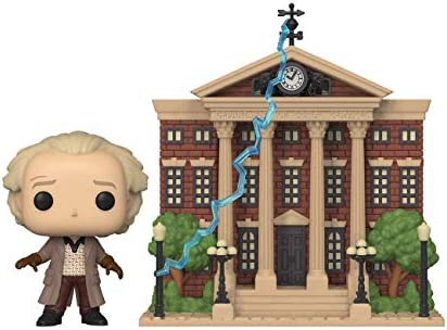 Funko Pop Town Back to The Future Doc with Clock Tower product image