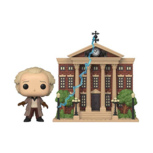 Pop! Town: Back to The Future- Doc w/Clock Tower