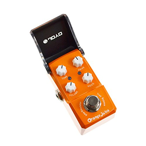 JOYO JF-310 Orange Juice Guitar Effect Pedal Overdrive DI Amplifier Simulator Ironman mini series