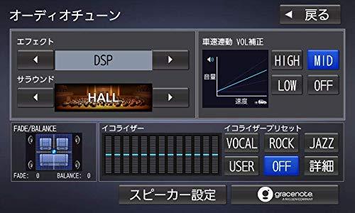 『パナソニック カーナビ ストラーダ 7型ワイド CN-RE06WD フルセグ/Bluetooth/DVD/CD/SD/USB/VICS』の2枚目の画像