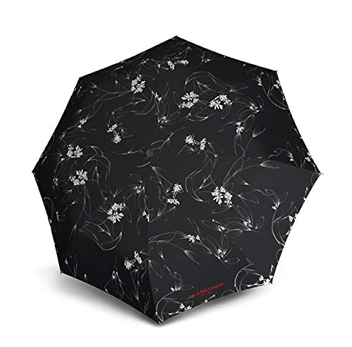 Knirps T.200 Medium Duomatic Regenschirm Taschenschirm T200 Auf-Zu Automatik sturmfest bis 140km/h Lola Paltinger