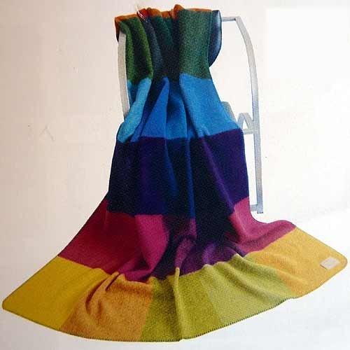 STEINBECK Manta Monza de 100% lana virgen, en seis colores diferentes, 150 cm x 200 cm