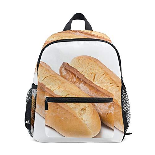 Schulranzen Vorschulrucksack Burnt Loaf Dark Toast Kindergarten Kindergarten Rucksack Leichter Bookbag für Mädchen Jungen Kleinkind Alter 3–5 Kinder mit Brustgurtschnalle und Pfeife