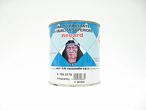 Neoard - Esmalte brillante de calidad superior, color amaranto, 750 ml