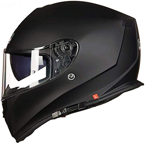 ZHXH Full Face Motorradhelm, Modularer Four Seasons Full Female-Helm für Erwachsene...