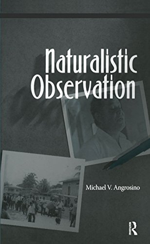 413p82iggCL - Naturalistic Observation (Qualitative Essentials Book 1)