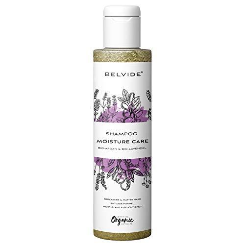 BELVIDE® Feuchtigkeits Shampoo mit Bio Arganöl und Bio Lavendel · ohne...