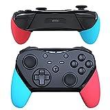 JOYSKY Mando Nintendo Switch con Batería de Litio de 1200 MAH / Programación Macro en La Parte Posterior / NFC / Joystick de Alta Precisión / (Lzquierda azul / Roja derecha)