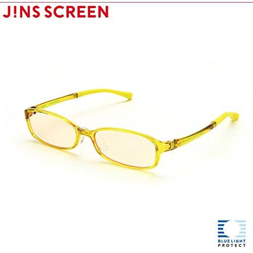 【JINS PC スクエア ハイコントラストレンズ】PC(ディスプレイ)専用メガネ (度なし)(DARK BROWN)