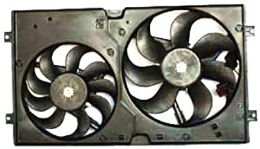TYC 621000 Vollkswagen Beetle Replacement Radiator/Condenser Cooling Fan Assembly