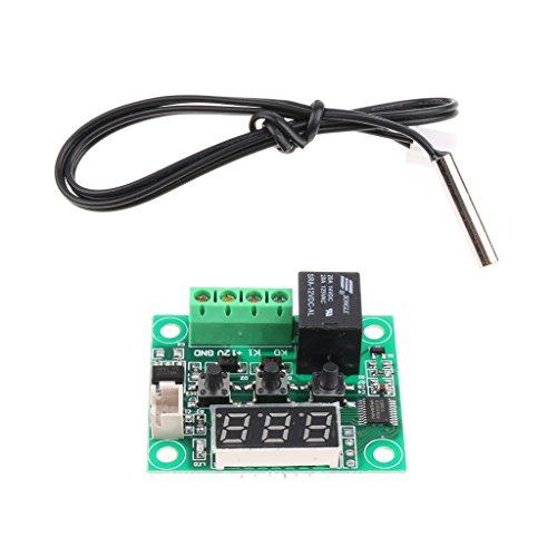 Price comparison product image Almencla XH-W1209 Digital Display Thermostat High-precision Temperature Controller
