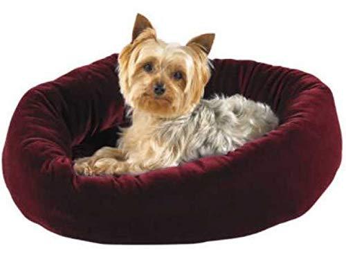 Slumber Pet Velour Snuggler Bed