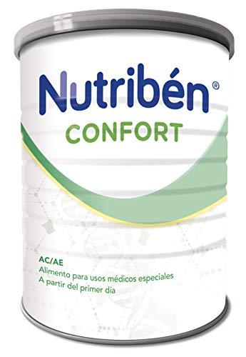 Nutribén Confort Leche en polvo para el bebés con Cólicos, Estreñimiento y otros trastornos digestivos moderados- Desde el nacimiento- 1 unidad 800g