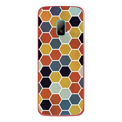Disagu SF-sdi-4195_1206 Design Folie für Wiko riff Rückseite - Motiv Polygone 03