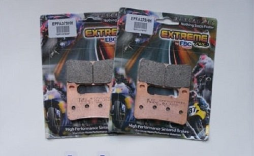 EBC Sintered Double H Front Brake Pads (2 Sets) 2012 2013 Suzuki GSX1300R Hayabusa Limited Edition / EPFA379HH