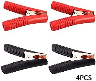 Univsal Autobatterie Clip Kabel, Krokodilklemmen, Ladeklemmen, Batterieklemmen, Auto Reparatur Set, 4 Stück