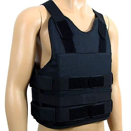 MLE Stichschutzweste Security, Stich- und Schlagschutz S/M, L/XL, XXL, XXXL, Größe:XXL