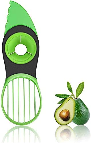 Avocado slicer 3 In 1 Avocado Slicer Avocado Cutter Fruit Vegetable Peeler Kitchen Tools Avocado product image