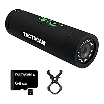 TACTACAM 5.0 Hunting Action Camera + Barrel/Scope Mount and 64GB MicroSD Card from TACTACAM