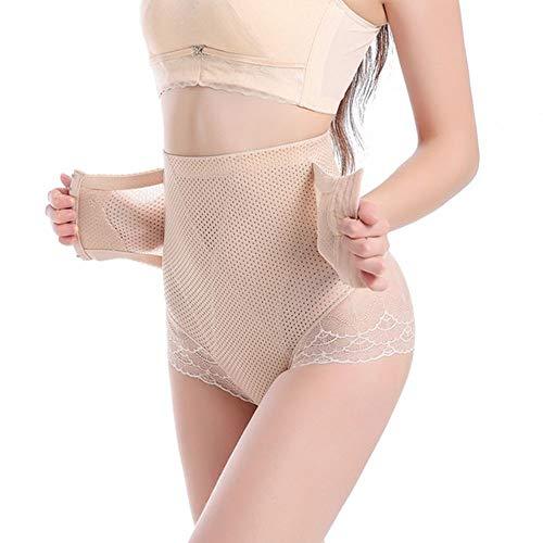 Body Shaper Ademend Breasted Hoge taille Hip Lift Afslanken Afslankbroek Zwangere vrouw Postpartum taille afslankpak,Flesh,XXXL
