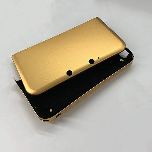 GOZAR Boîtier en Métal Dur en Aluminium Multicolore Coque pour 3Ds XL LL -Or
