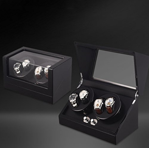 LDDLDG Automatische Uhrenbeweger Box Uhr Winder Shake Uhr Gerät, Uhrenbox, Meterwechsler, schütteln Uhr Gerät, obere Kettenschaltung, mechanische Meter, automatische Meter. (Color : 4+0a)