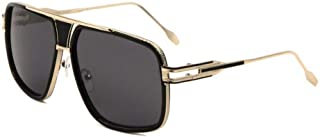 Gazelle Tycoon Aviator Sunglasses w/Multicolor Lenses