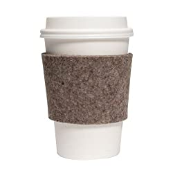 Coffee sleeve gift idea for your partner - wool 7th anniversary gifts