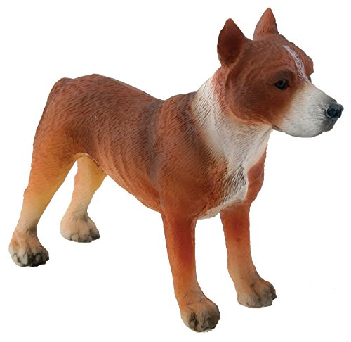 American Pitbull Terrier Dog - Collectible Figurine Statue Figure by Summit