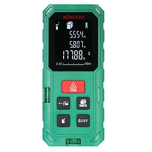 Telêmetro, medidor de distância digital portátil portátil de 80 m Telêmetro de alta precisão Medição de volume da área de comprimento