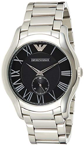 Emporio Armani Herren Analog Automatik Uhr mit Edelstahl Armband AR11086