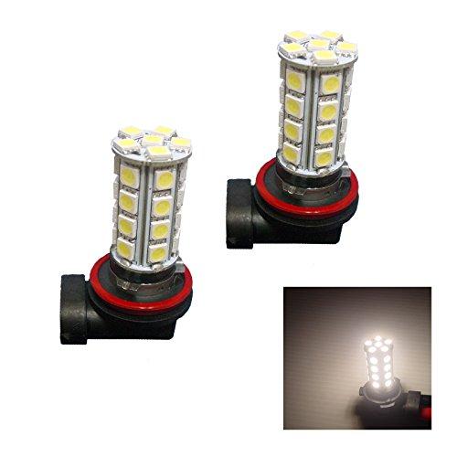 PA 2 x Blanc chaud 30-smd LED H8 H11 Feux de Brouillard E90 E92 3 Series
