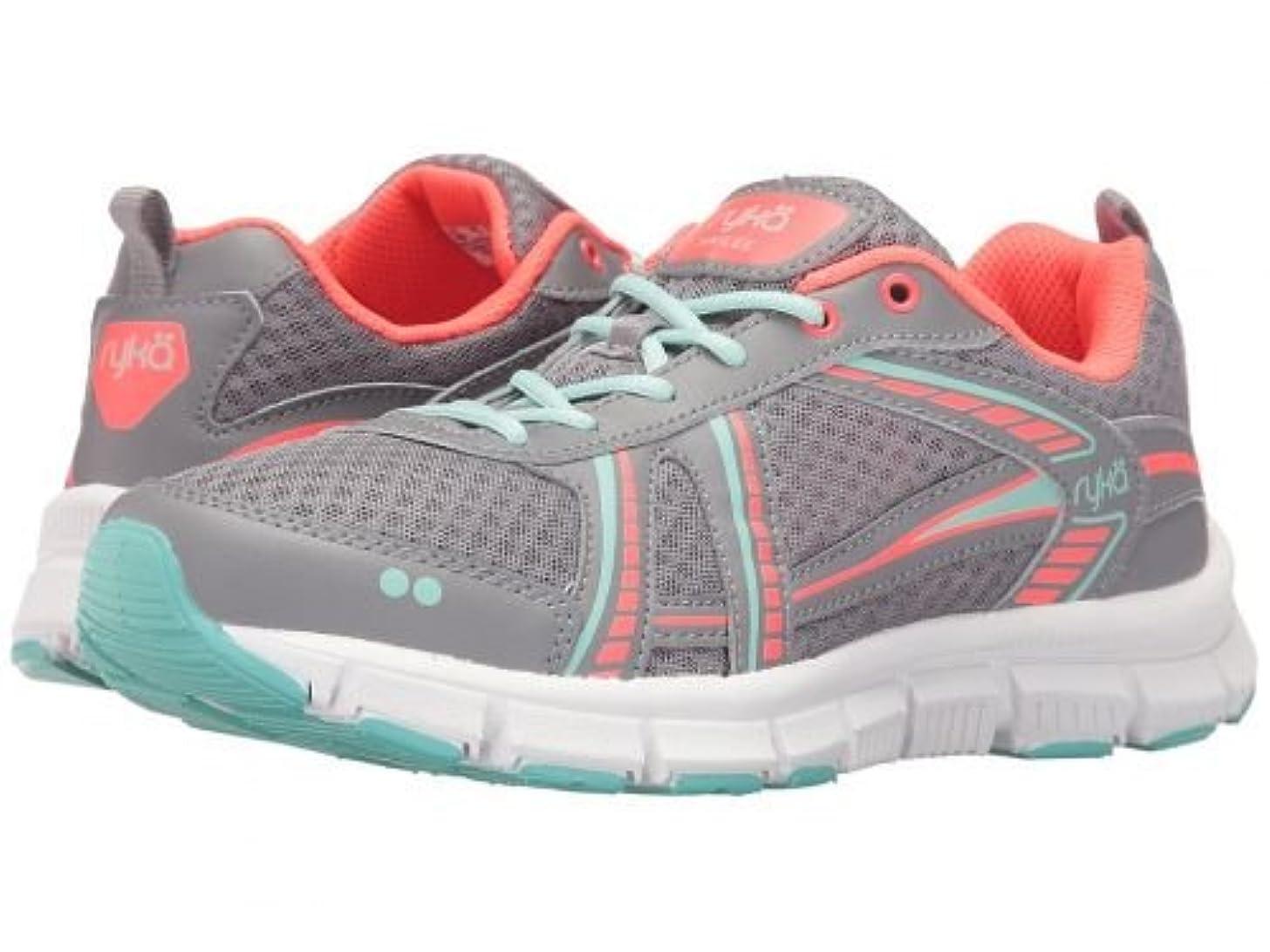に勝るウミウシヒューバートハドソンRyka(ライカ) レディース 女性用 シューズ 靴 スニーカー 運動靴 Hailee SMT - Frost Grey/Eggshell Blue/Electric Coral 6.5 B - Medium [並行輸入品]