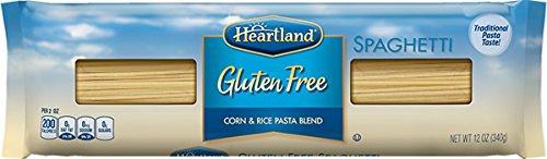 Heartland Gluten Free Spaghetti Pasta, 12 Ounce -- 20 per case.