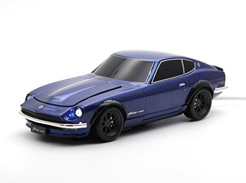 [CassetteCarProducts] 日産 フェアレディZ 240Z 自動車型 モバイルバッテリー ミッドナイトブルー 4500mAh 4562367657281
