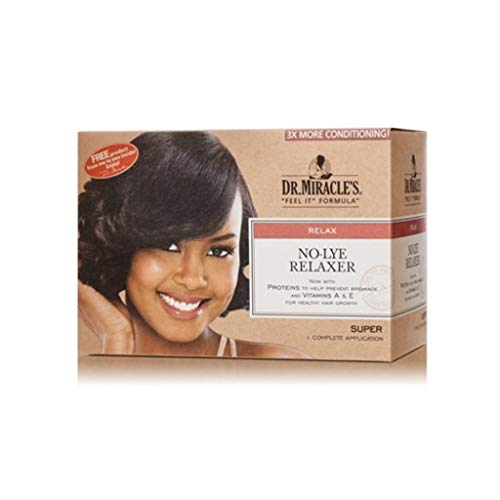Dr Miracle's No Lye Relaxer. Super