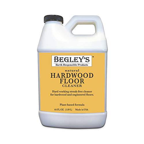 Begley's Best Earth Responsible Natural Plant-Based Hardwood Floor Cleaner, Fresh Citrus Scent, 64...